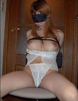 アイマスク目隠し身体拘束奴隷巣イメージ画像2